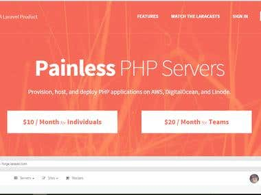 Have extensive experience with services provided by Laravel Forge and can create recipes for automating various tasks as I have done for a client.