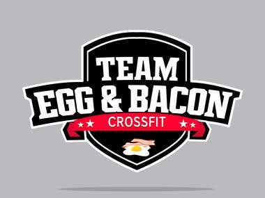 This is a logo I made for a client recently for his cross-fit team.
