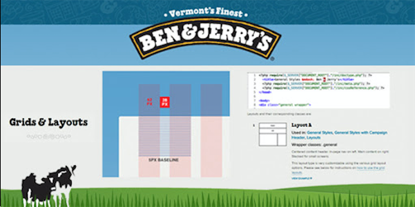 Ben and Jerry's Style Guide