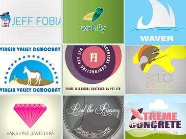elegant logo design work