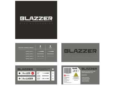Graphic Design & 3D Graphics Blazzer Company Project   Package Design