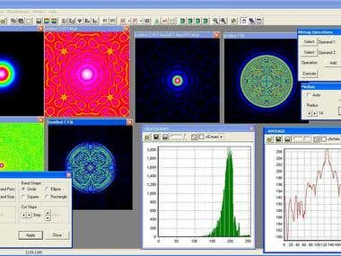 A Windows desktop application for processing of bitmap imagess in scientific research. Features more than 80 built-in functions. Written in Delphi.