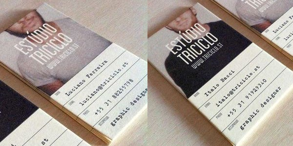 Personalized design for modern business card