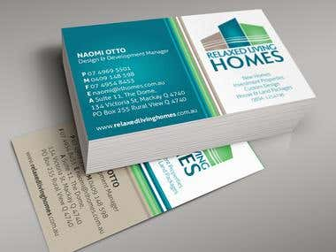 Some the business cards  designed for my customers