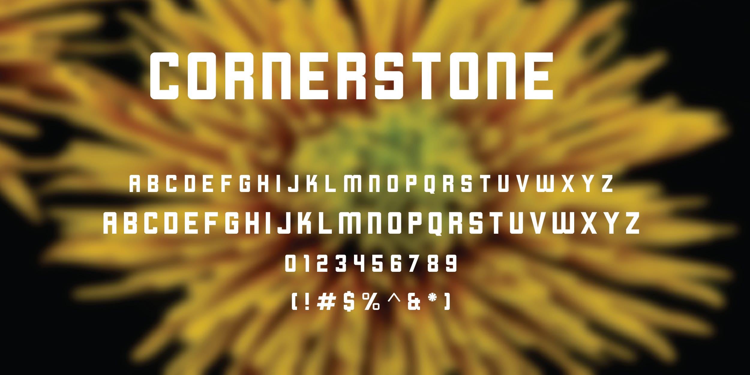 Cornerstone Free Font