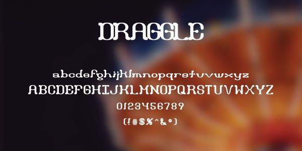 Draggle Free Font