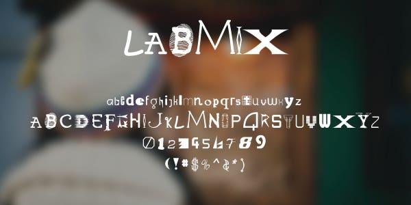 Labmix Free Font