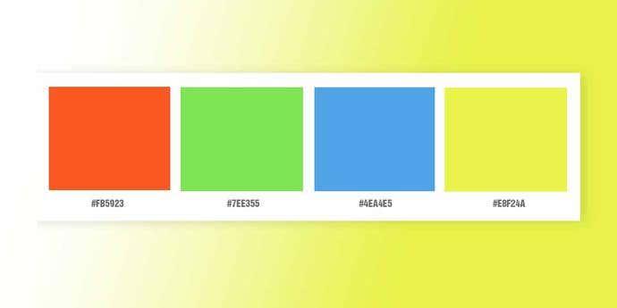 Microsoft Color Palette