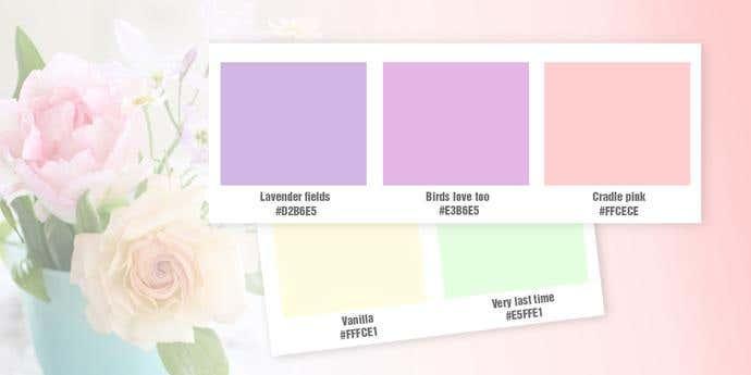 Nostalgic Softness Color Palette