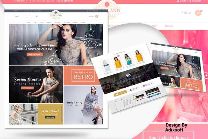 Best ecommerce homepage design