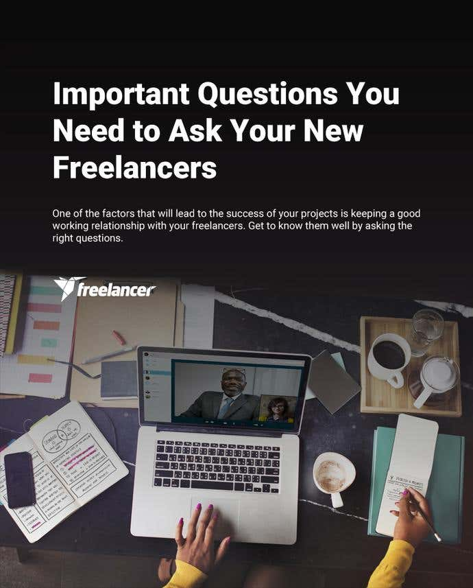 Important Questions You Need to Ask Your New Freelancers - Image 1