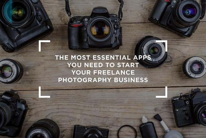 The Most Essential Apps You Need to Start Your Freelance Photography Business - Image 1