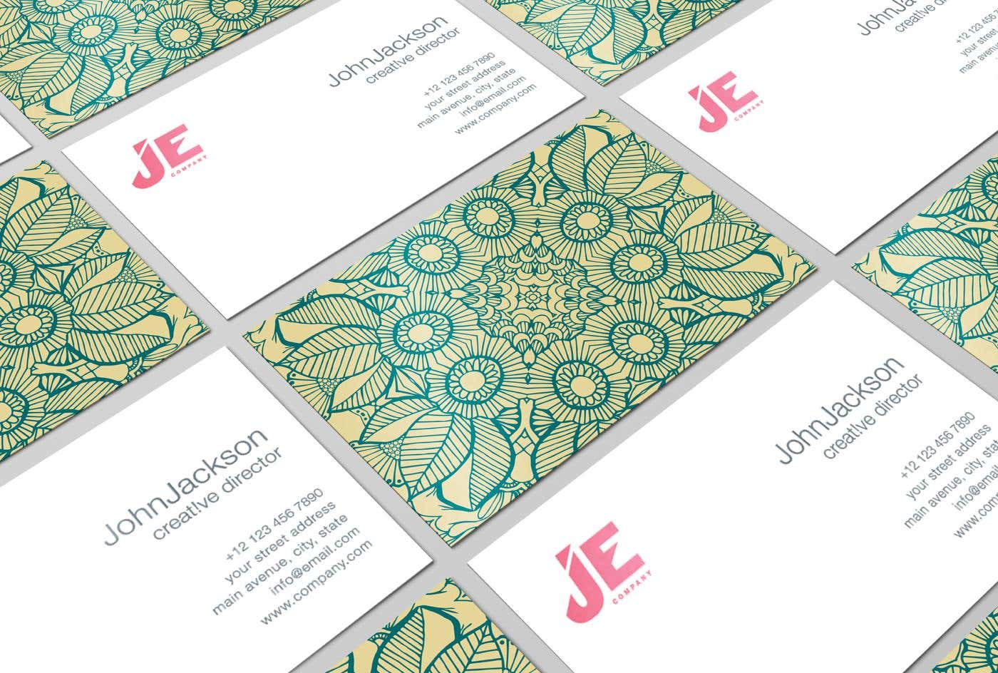 60 Modern Business Cards To Make A Killer First Impression ...