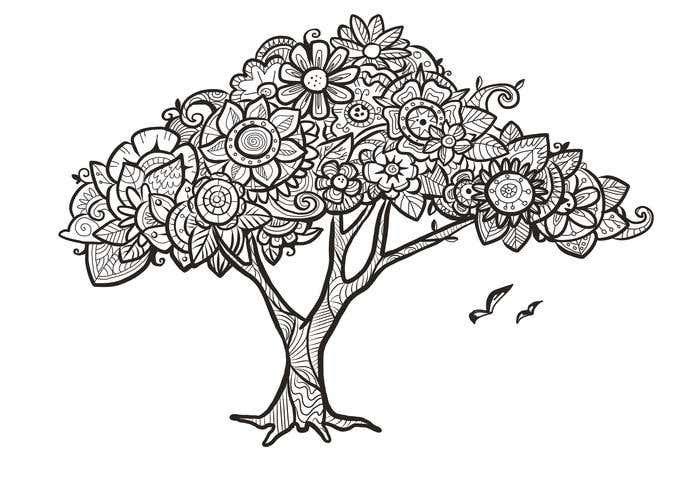 How To Draw Doodle Art: Tree - Image 3