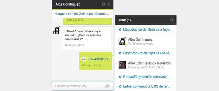 Screenshot-cambios-chat-adjuntar-zip
