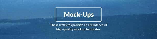 Free mock-up templates