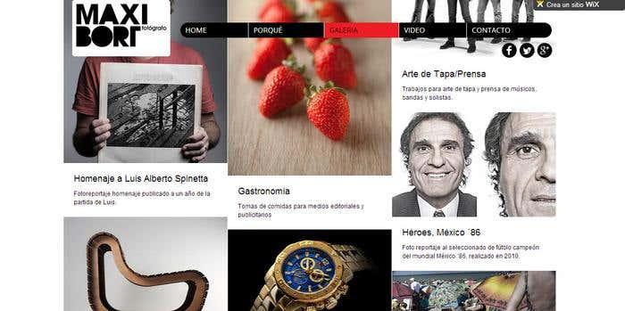 web fotos