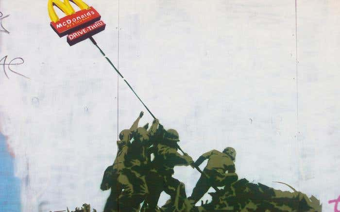 Banksy- Iwo Jima