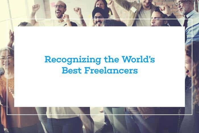 Recognizing the World's Best Freelancers - Image 1