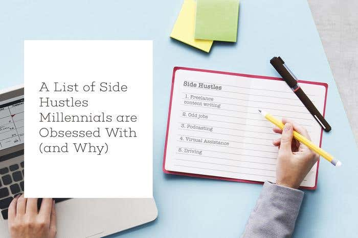 side hustles for millennials
