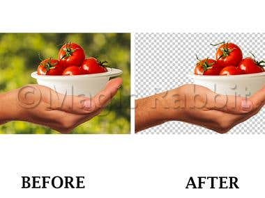 Background Removal - Hair Masking in Photoshop.