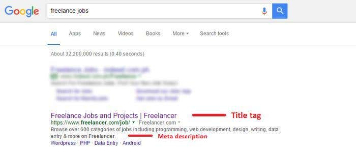 Google search- Freelancer