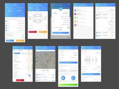 A design for Courier app.