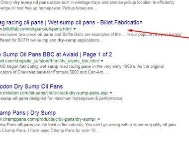 #7 in google.com dry sump oil pans