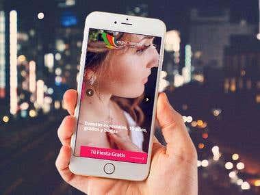 Diseño web mediante la plataforma Wordpress para la empresa Expoeventos & Shopping http://www.expoeventos.co/