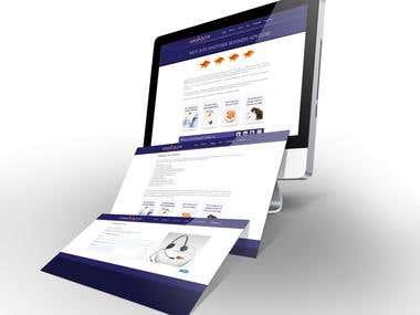 Website developed for Adam Volcov - Business Advisor