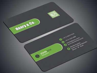 Creative - Eye-catchy - Modern - Business Card Design
