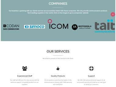 website made by us for SCC (WA)