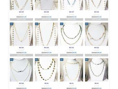 Its a Woo Commerce Wordpress based website for Jewelry.