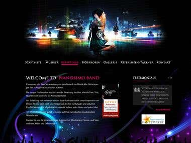 Techology used: WordPress, HTML5, CSS3, PHP, Template Design