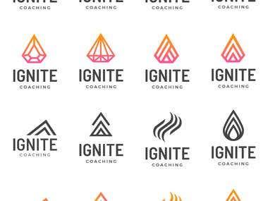 Client wanted a logo design