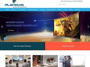 PSD to WordPress with fully functional website & full responsive website using responsive custom with Bootstrap framework. Project url: http://matbd.com