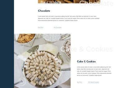 I have converted adobe xd design to full responsive wordpress website.