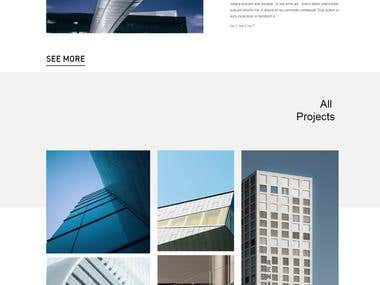 I have converted PSD design file to 100% responsive website with wordpress backend.