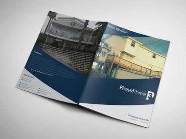 Brochure Design for Planet Three