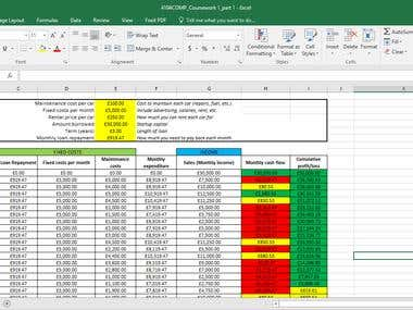 I can do most of the Excel works. Also I know all functions in Excel. So if you have any Excel projects don't hesitate to contact me...