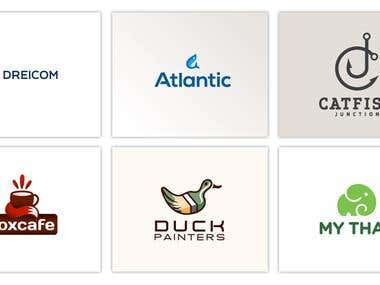 Logos designed for clients and contest