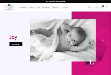 Alure Baby Collections Website