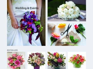 We developed this website in Opencart. We installed minerva opencart theme and customized as per client's requirement. We developed custom photogallery and delivery date modules. Using delivery date module customer can choose own delivery date. We imported data from excelsheet to Opencart.