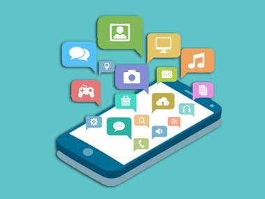 I have rich experience in creating Android Applications. We have developed many successful application which is live in market and earning handsome money.