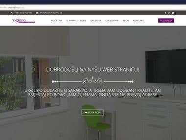 Joomla Website Mockup
