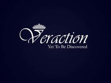 Veraction logo.