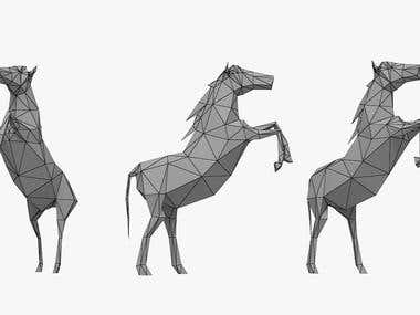 Horse Modeling Low