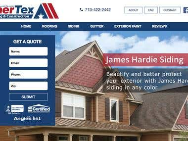 Link to AmerTex Roofing & Construction site : https://amertexroofing.com/  Please visit and have look.