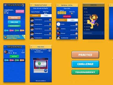 Triviakings is and quize app