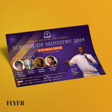 Marketing Materials for a Church